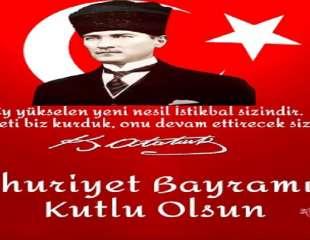 29 Ekim Cumhuriyet Bayramını Kutluyoruz