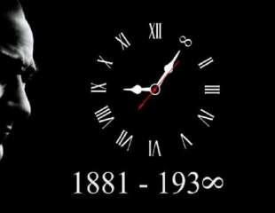 10 Kasım Pazar Atatürk'ü Anma Günü